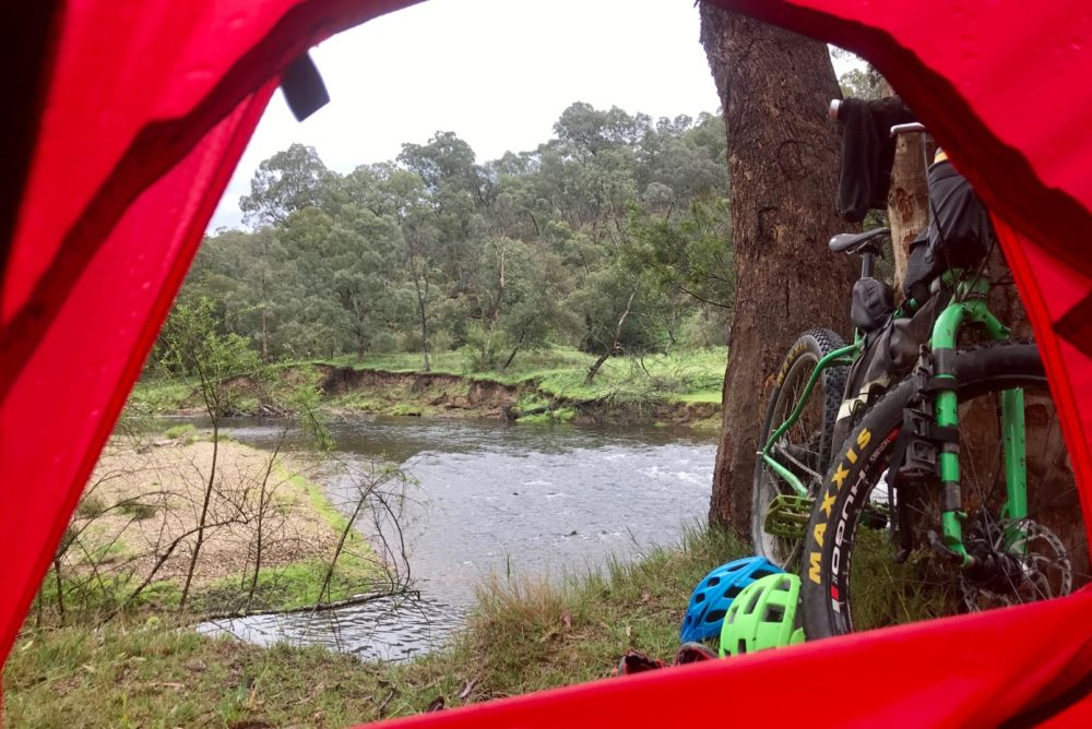 Lovely riverside camp 10km out of Dargo
