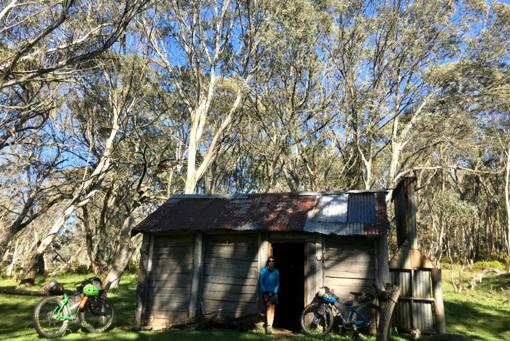 Cascade hut – the huts are encouraged to be used only for emergency and there is usually plenty of camping outside