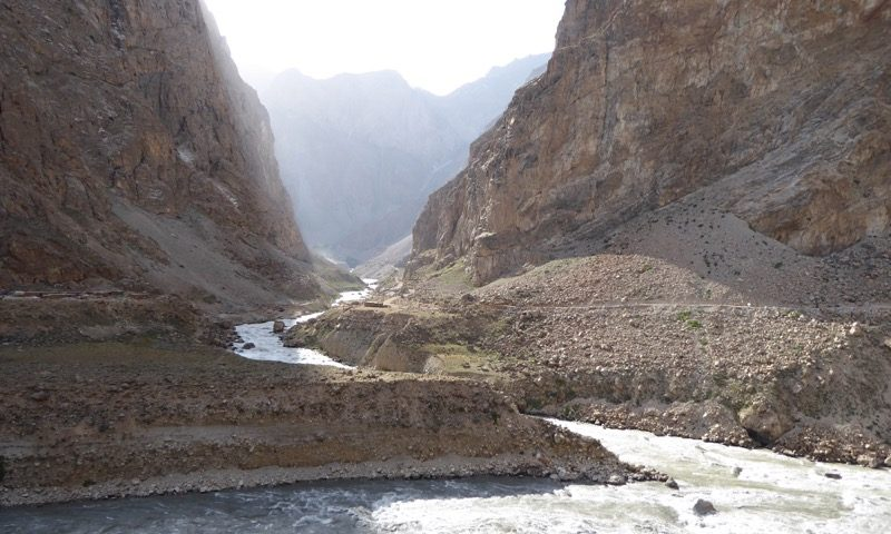 a side feeder of the Panj draining Afghanistan