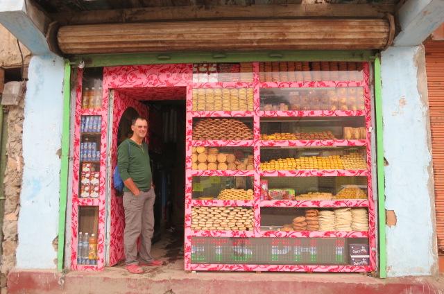Colourful Drass bakery